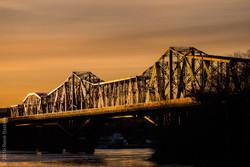 Sunset on Alexandra Bridge