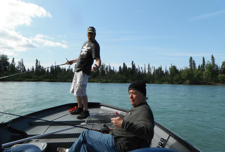 drifting for kenai river kings