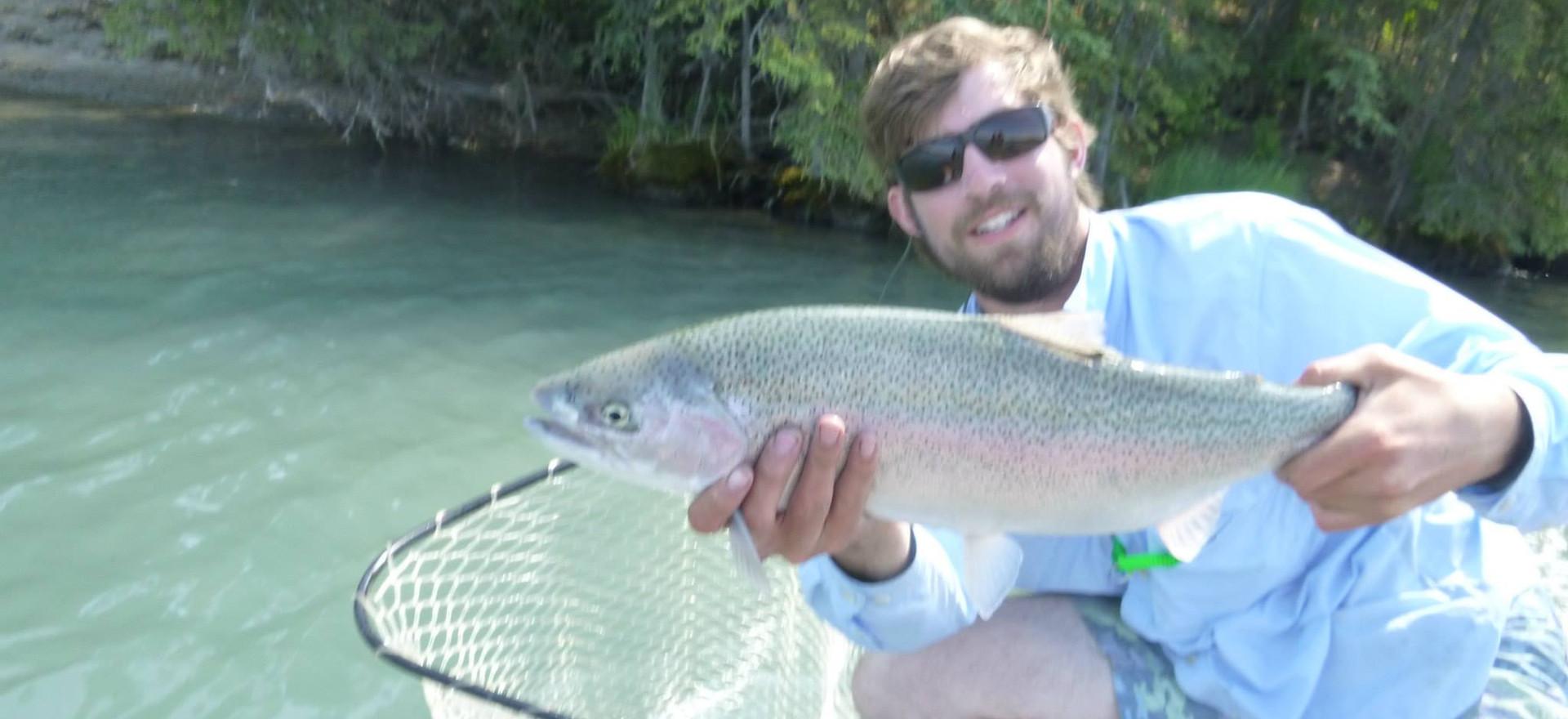 rainbow trout kenai river