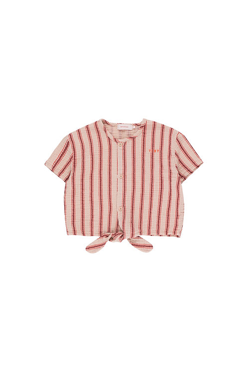 Retro Stripes Tie Tee