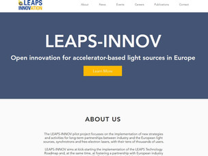 LEAPS-INNOV Website launched
