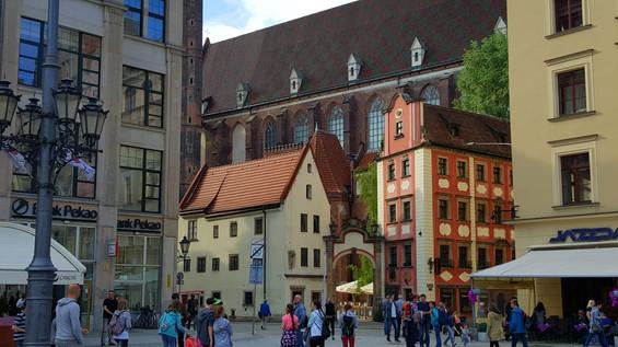 עיר עתיקה בוורוצ'לב פולין