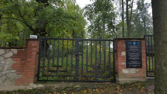 בית קברות בשצ'בז'שין פולין