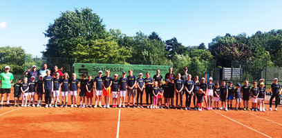 Tenniscamp 8. Juli 2021