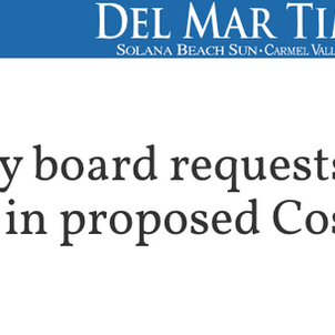 Carmel Valley Board requests community involvement in proposed Costco.