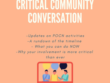 JOIN - CRITICAL COMMUNITY CONVERSATION – POWAY SCHOOL SITE