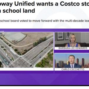 CBS 8 - PUSD wants a Costco on School Land