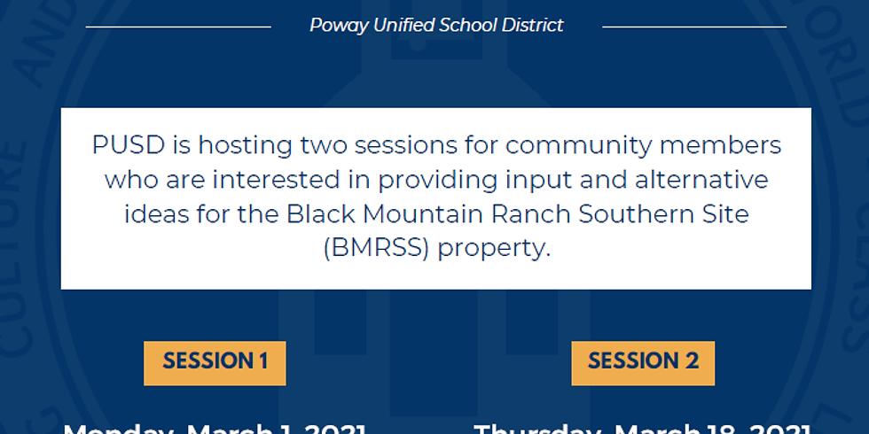 PUSD BMRSS Community Input Sessions