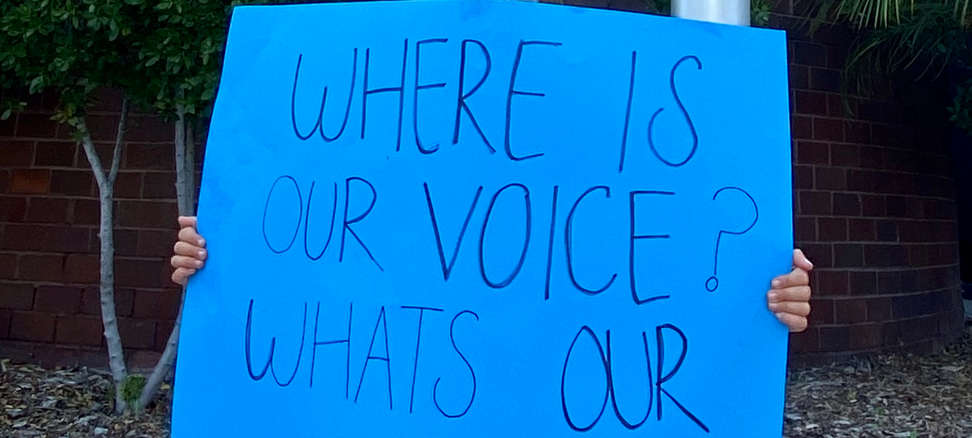 """Where is Our Voice.."""