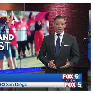 FOX 5 - School Land Protest