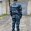 Thumbnail: Костюм для охранника (серый камуфляж) #2