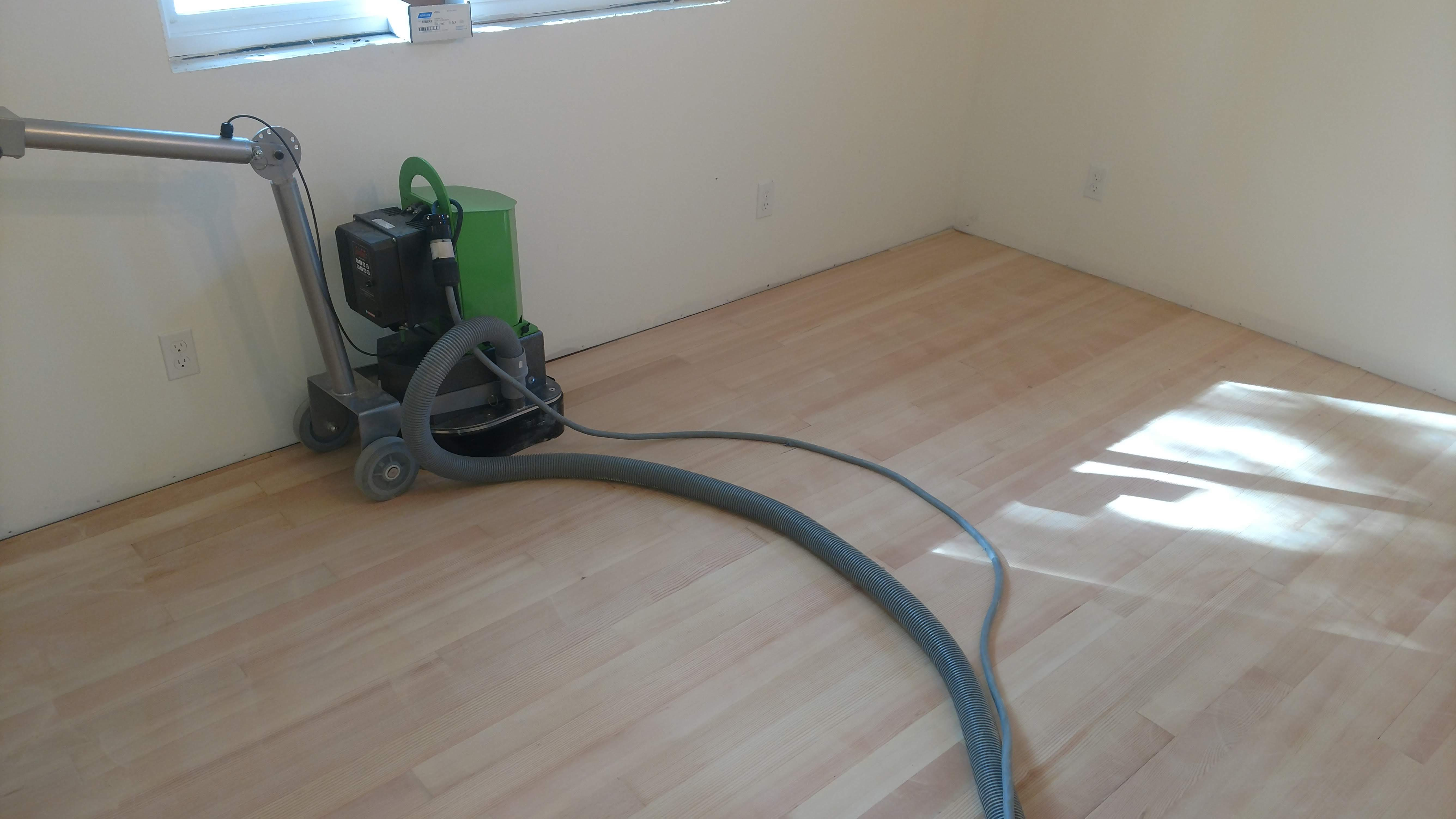 Wood Flooring Machine