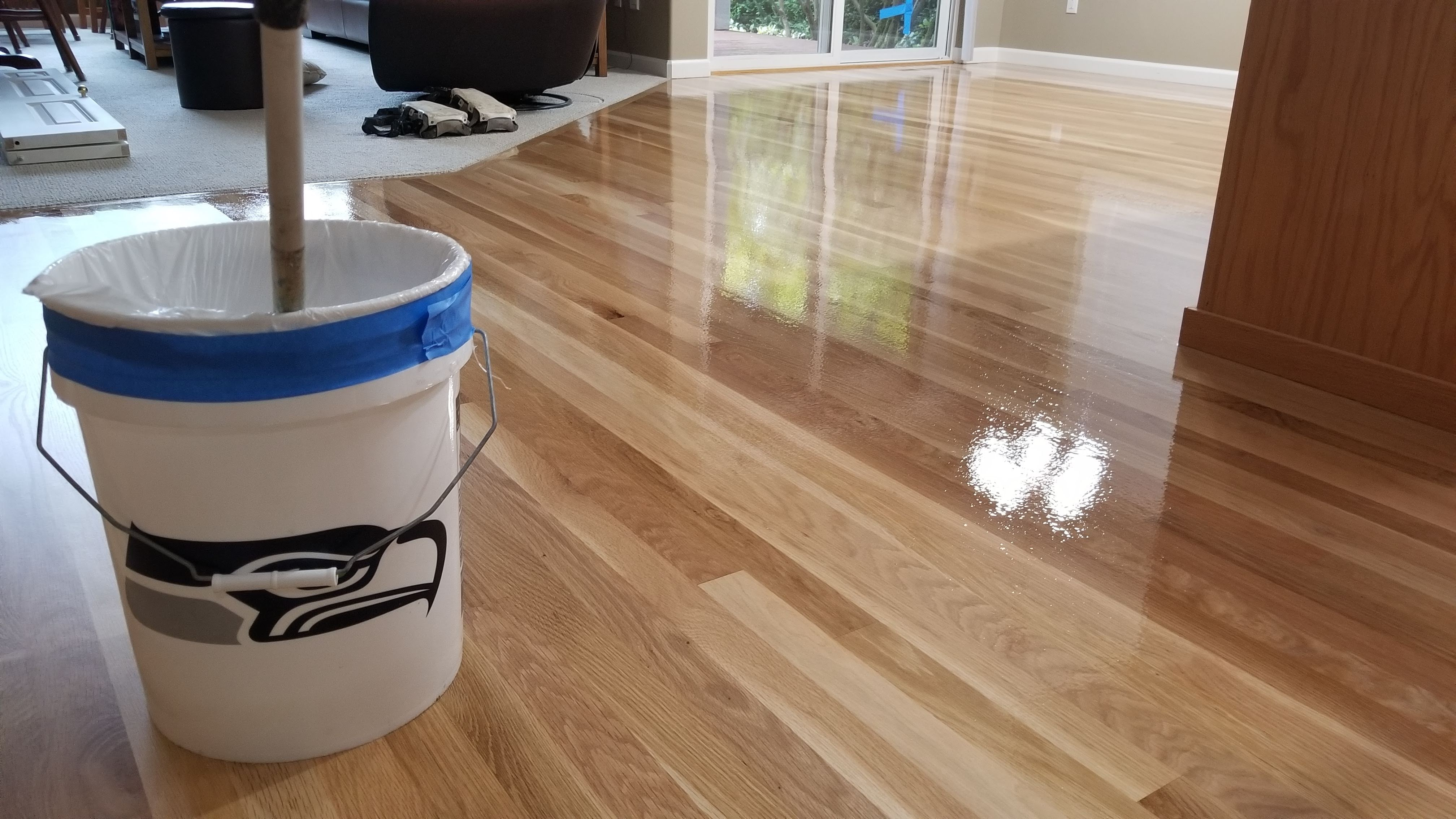 New Wood Floor Shine