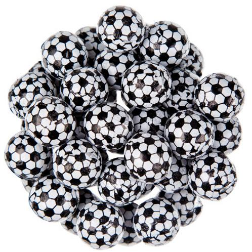 Chocolate Soccer Balls