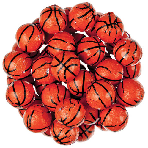 Chocolate Basketballs