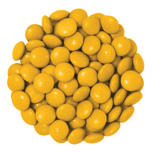 Gold M&M's