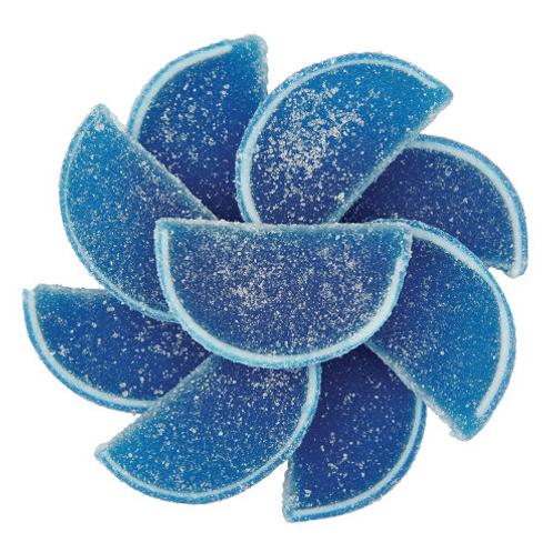 Blue Raspberry Fruit Slices