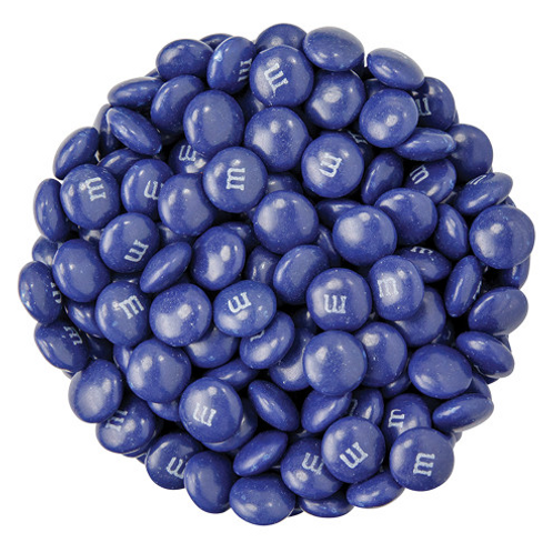 Dark Blue M&M's