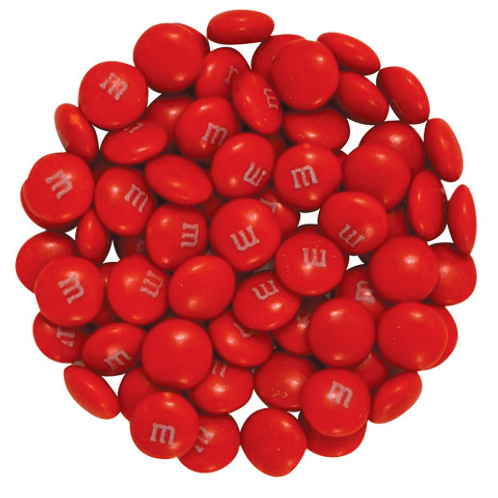 Red M&M's