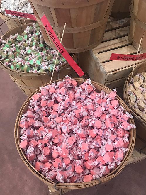 Pomegranate Taffy