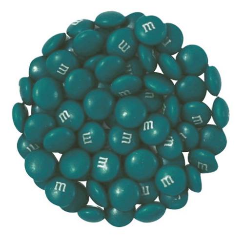 Teal M&M's