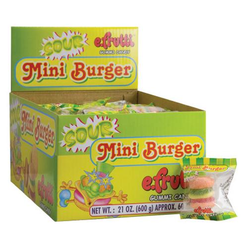 Sour Mini Gummy Burger