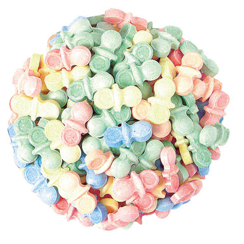 Candy Pacifiers