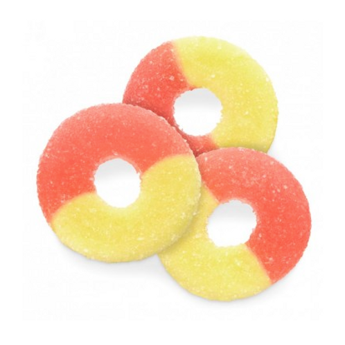 Gummy Strawberry-Banana Rings