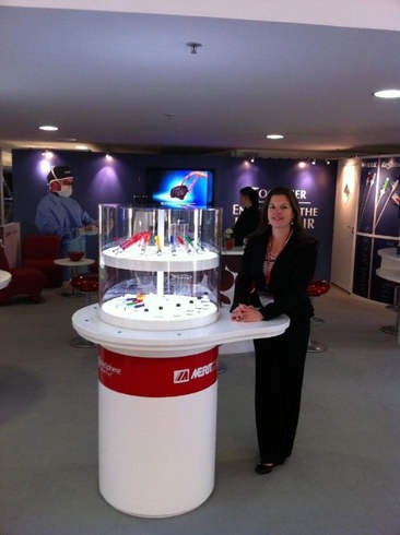 Booth at CIRSE