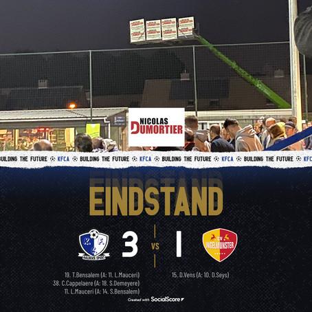 Aalbeke pakt de 3 punten in topper tegen SV Ingelmunster!