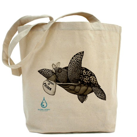 Poisoned Turtle Tote