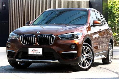 2016 BMW X1 1.8d ดีเซล 2.0 Twin Power Turbo รถสวย สภาพใกล้เคียงรถใหม่