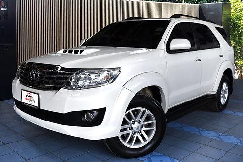 2013 Toyota Fortuner 3.0V 4WD มือเดียวออกห้าง