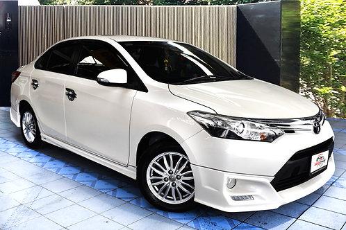 Toyota Vios Exclusive ปี2016 ราคาสบายกระเป๋า สภาพดีพร้อมใช้งาน