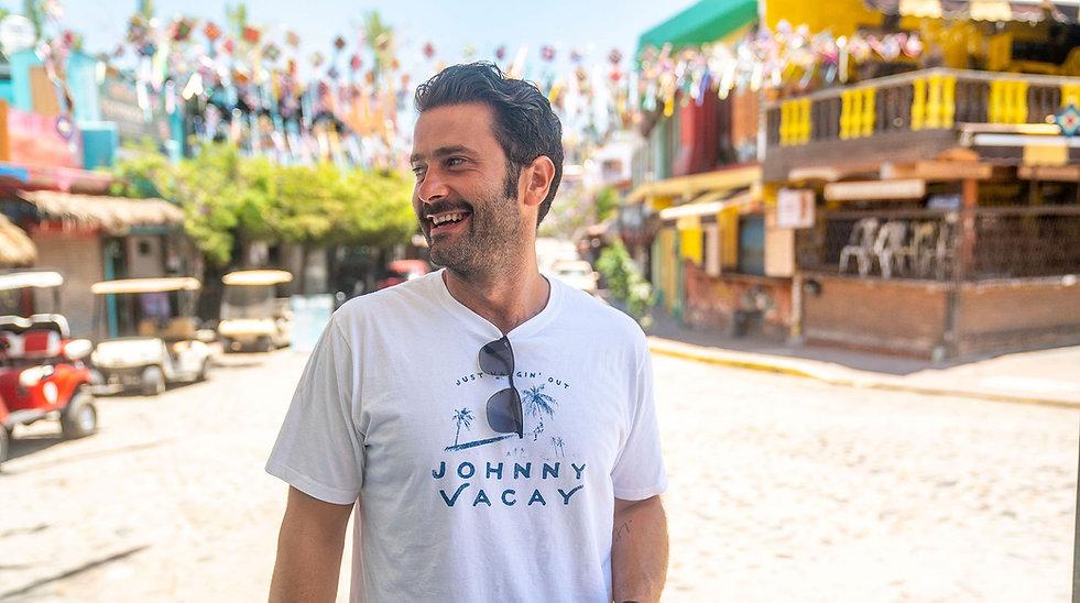 Johnny Vacay Short Sleeve Tee Shirt