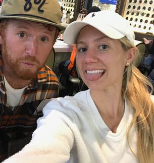 Airport Selfie Before Fleeing USA