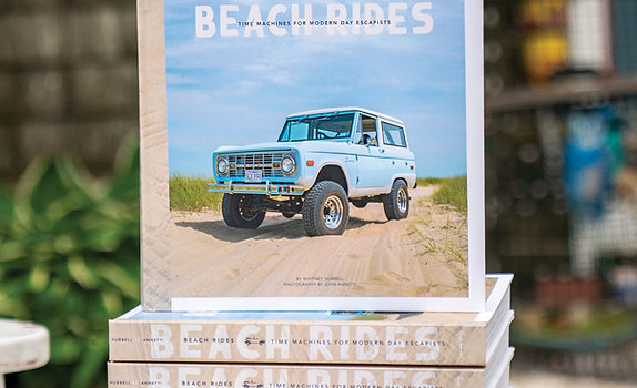 Beach Rides Coffee Table Book - 2nd Edition
