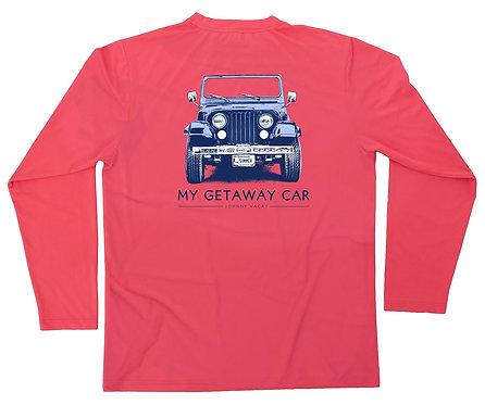 Getaway Car UPF 50 Performance Tee