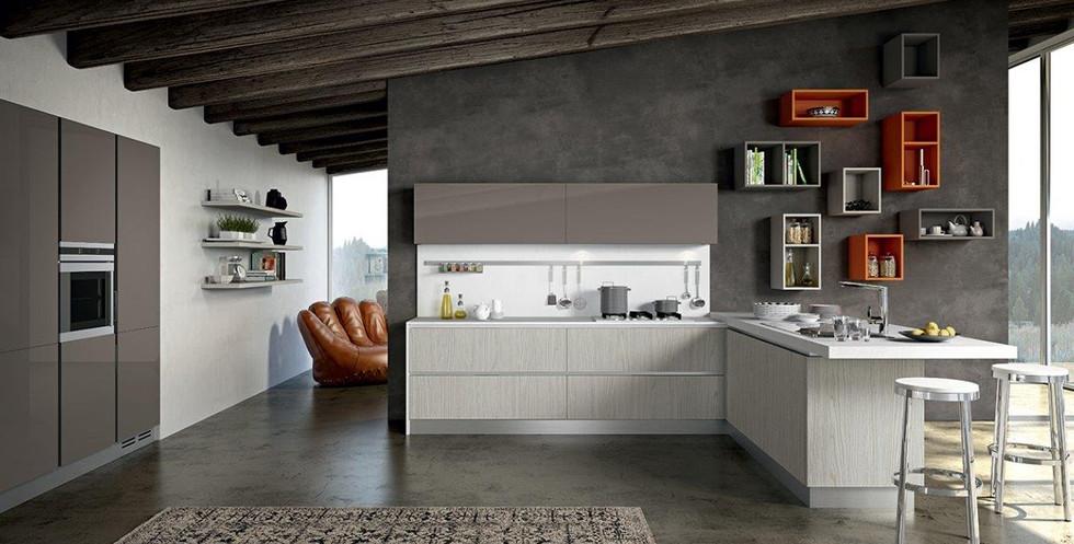 Cucine senza maniglia   mazzola arredamenti   Cesano Maderno