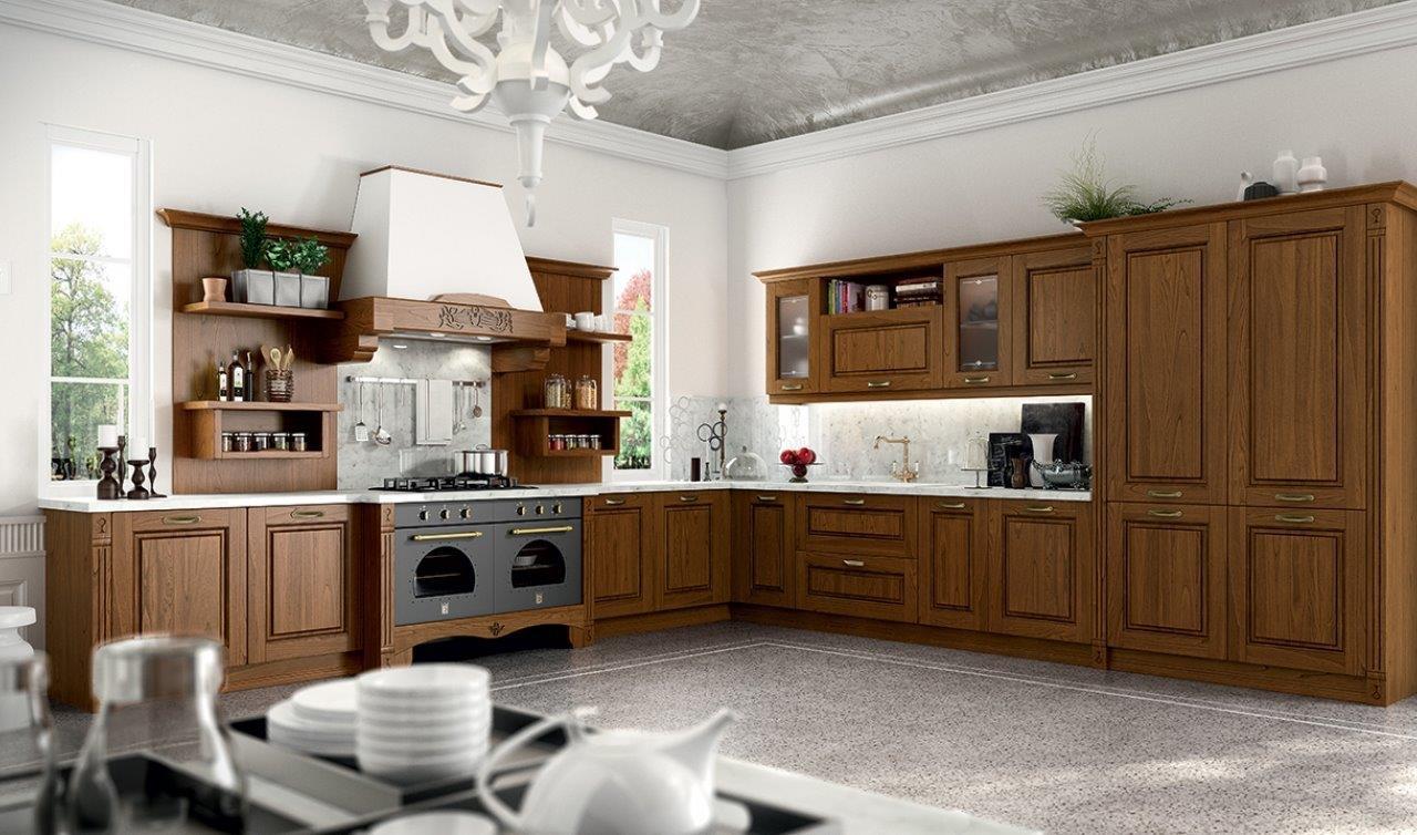 Cucina classica6 maderno for Mazzola arredamenti