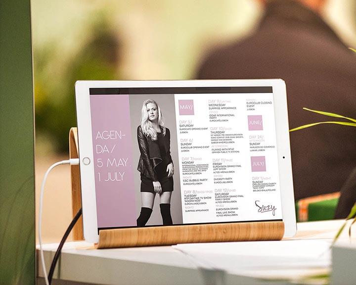 Criação de flyer digital. Cliente: Suzy.