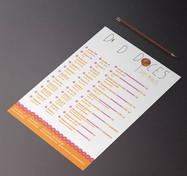Criação de logo e Flyer. Cliente: Doces dos Miaus.