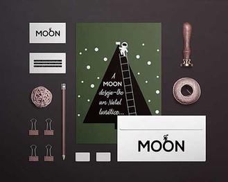 Criação de branding. Cliente: Moon.