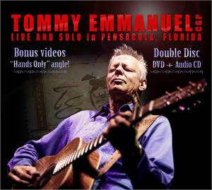 Live and Solo in Pensacola, Florida CD/DVD set
