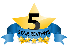 5 star reviews for our external textured coated home