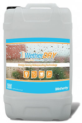 Waterproofing for exterior house walls
