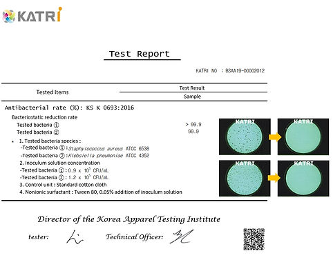 Dr. Towel KATRI Test Report