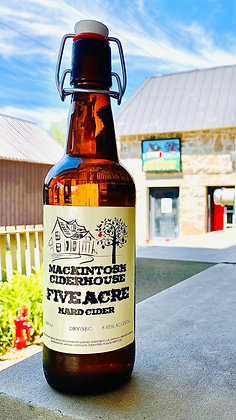 Limited Edition Five Acre Hard Cider 500 mL.