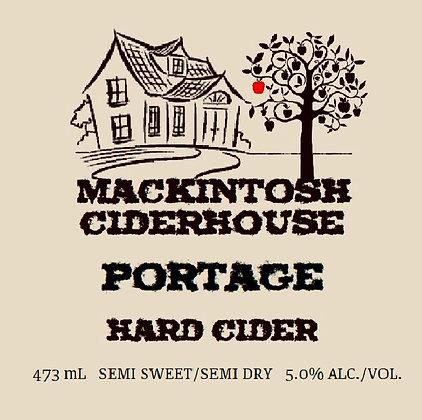 Limited Edition Portage Hard Cider 473 mL.