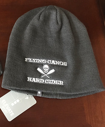 The Official Flying Canoe Hard Cider Beanie White